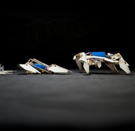 A team from Harvard's Wyss Institute, Harvard's SEAS, and MIT built an autonomous robot that starts out as a single composite sheet programmed to fold itself into a complex shape and crawl away without any human intervention.