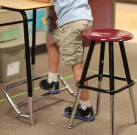 Preliminary results show 12 percent greater on-task engagement in classrooms with standing desks, which equates to an extra seven minutes per hour of engaged instruction time.