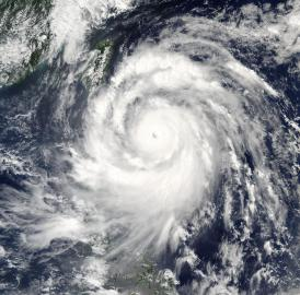 On Sept. 13, 2016, at 1:10 a.m. EDT (0510 UTC), the MODIS instrument aboard NASA's Aqua satellite showed powerful and large Super Typhoon Meranti headed to Taiwan.