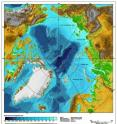 The western portion of the Gakkel Ridge has been found to contain a geochemical signature until now known mainly from the Indian Ocean.