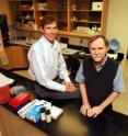 Drs. Frank Treiber (left) and Gregory Harshfield.