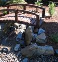 This is a small pondless water feature design.