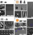 By using unique two-dimensional templates, researchers at the University of Michigan could coax carbon nanotubes to grow in intricate, curving three-dimensional structures.
