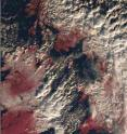 This is an image of snow-bound UK from space by AATSR on Dec. 1.