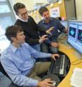 Berkeley Lab scientists Jim Schuck, Jeff Neaton and Stefano Cabrini discuss visualizing plasmonic fields.