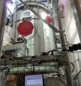 This is the reaction chamber at the Juelich Plant Atmosphere Chamber.