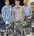 Long Ju, Feng Wang and Jairo Velasco Jr., have been using visible light to charge-dope semiconductors made from graphene and boron nitride.
