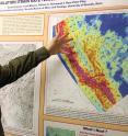 Corné Kreemer, associate professor in the College of Science at the University of Nevada, Reno, conducts research on plate tectonics and geodetics. His latest research shows that oceanic tectonic plates deform due to cooling, causing shortening of the plates and mid-plate seismicity.