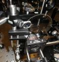 Researchers from Japan have developed a new high-speed camera technology, called STAMP, that can record events at a rate of more than 1-trillion-frames-per-second. The prototype camera is shown here in the lab.