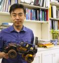 Xudong Wang has developed a new way to harvest energy from rolling tires.