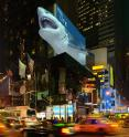 This is the billboard of the future: A large-scale glasses-free 3-D display.