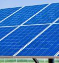 A new mix of materials for a solar cell, developed by a Berkeley Lab-led team of researchers, shows promise for use in solar panels.