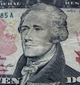 Alexander Hamilton, a founding father whose image now graces the US $10 bill, was never president of the United States.