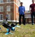 "Johns Hopkins computer science graduate students and their professor discovered three security flaws in a popular hobby drone, all of which could which cause the small aircraft to make an ""uncontrolled landing."""