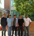 This is the research team (left to right): Zhongjie Wang, Tuan Dao, Yue Cao, Zhiyun Qian and Srikanth V. Krishnamurthy.