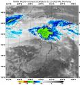 On Aug. 30 at 8:55 a.m. EDT (1255 UTC) NASA's Terra satellite captured an infrared image of Tropical Storm Lionrock over southern Hokkaido, Japan.