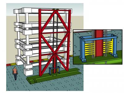 A new earthquake-resistant structural system for buildings,