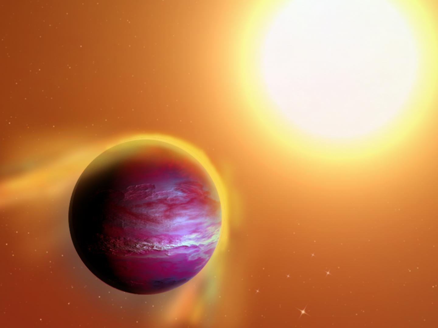 Astronomers may have spotted a dying 'hot Jupiter'