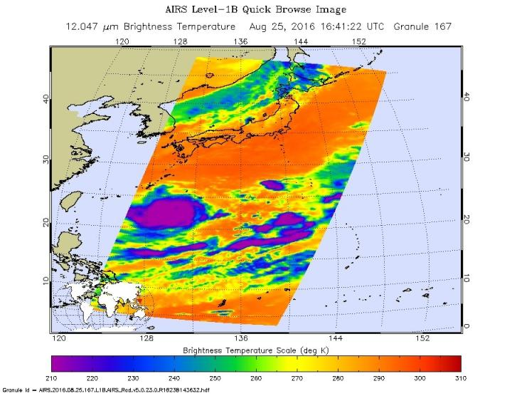 Strong typhoon Lionrock aims for Japan's northeast