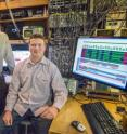From left, Sydney Schreppler, Dan Stamper-Kurn and Nicolas Spethmann were part of a team that detected the smallest force ever measured using a unique optical trapping system that provides ultracold atoms.