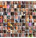 The MegaFace dataset contains 1 million images representing more than 690,000 unique people. It is the first benchmark that tests facial recognition algorithms at a million scale.